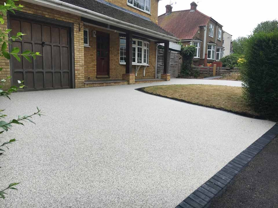 Resin Driveways in Bournemouth Poole